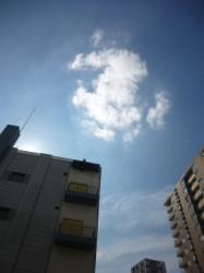 6日ぶりの太陽と青空☆17-10-18