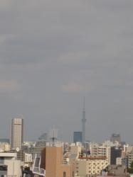 最上階からスカイツリー☆17-10-18
