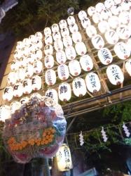 花園神社酉の市、一の酉前夜祭☆17-11-5