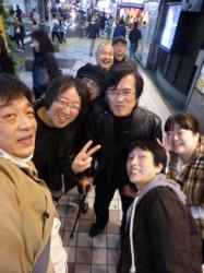 昇さん慰労会、イケタニさんたち☆17-11-5