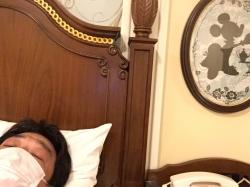 ランドホテル、ベッドで睡眠☆17-11-10