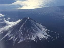 富士山、駿河湾☆18-1-2