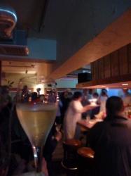 Hiruko、シャンペンで乾杯☆18-4-22