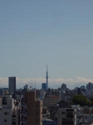 最上階からスカイツリー☆18-4-26