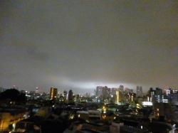 雨の夜、新宿方面☆18-5-7