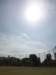 本町公園、晴れ☆18-5-11