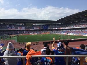 日産スタジアム、マリノス×V.ファーレン☆18-5-19