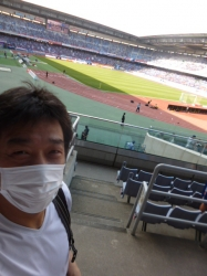 日産スタジアム、スタンド☆18-5-19