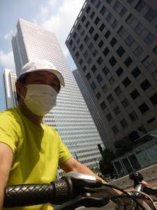 キャップ、西新宿☆18-5-27