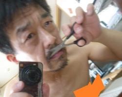 髭の伐採☆18-6-2