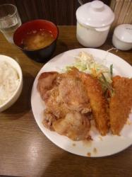 大正軒、ミックスB定食☆18-6-8