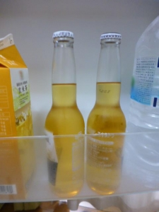 コロナビール、自宅冷蔵庫☆18-6-23
