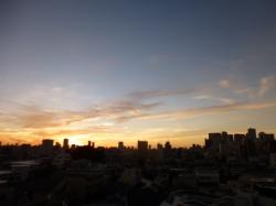 梅雨明けの日の夜明け☆18-6-29