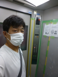 期間限定使用、自宅マンションエレベーター☆18-7-11
