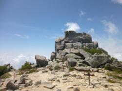金峰山、五丈岩全貌☆18-7-20