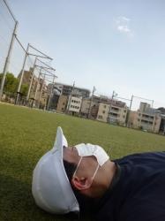 本町公園、大暑の日、ごろ寝☆18-7-23