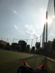 本町公園、大暑の日、日差し☆18-7-23