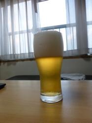 明るいうちのビール☆18-7-24