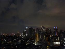 隅田川花火、新宿高層ビル群とスカイツリー☆18-7-29