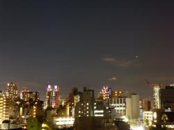 大接近前夜の火星、都庁☆18-7-30