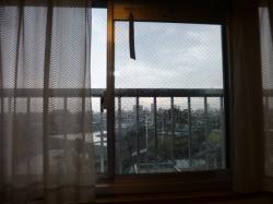 ゲリラ豪雨、部屋の中☆18-8-13