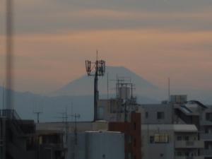 富士山、カラッとした空気☆18-8-19