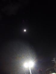 月と土星の接近☆18-8-22