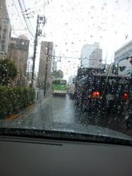 局地的豪雨、環七方南町付近☆18-8-31