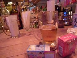 ビールとグリコ、Hiruko☆18-9-2