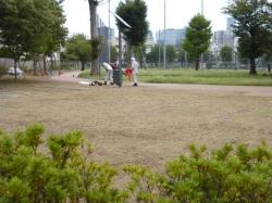 本町公園、草刈り☆18-9-6