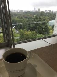 御苑の眺め、モス四谷区民センター☆18-9-15