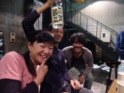オノケンと奥田と由湖さん☆18-11-1