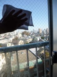 窓掃除☆18-11-3