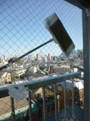 窓掃除、外側☆18-11-3