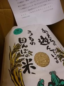 ふるさと納税、江北町の玄米☆18-11-6