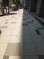 日なたと日影の真ん中、赤坂見附☆19-5-17
