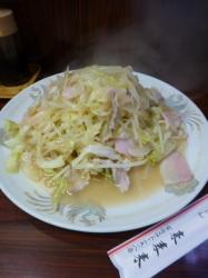 太麺の皿うどん、来来来☆19-6-14