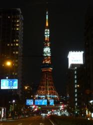 ドライブ、東京タワー夏バージョン☆19-7-11