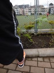 サッカーの子どもたち、本町公園☆19-7-15