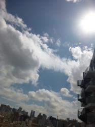 台風前の晴天☆19-9-8