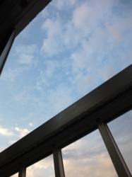 夕立の後の清々しい青空☆220-5-28