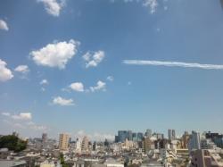 ブルーインパルス、都庁上空☆20-5-29