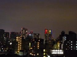 東京アラート前、都庁ライトアップ☆20-6-2