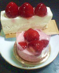 マールブランシュのあまおうイチゴミルクショート
