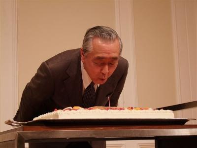 木下先生誕生日2009