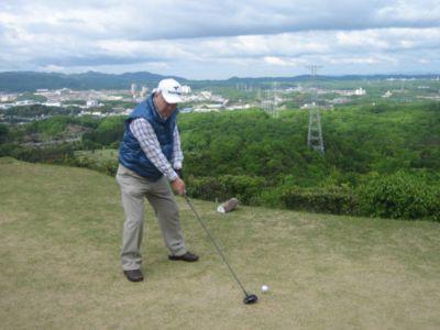 コトハナゴルフクラブ2010_木下先生