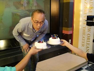 中野先生ケーキ