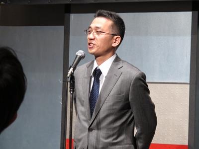 東京代表・石塚さん