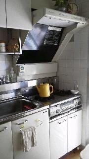 キッチンとケトル