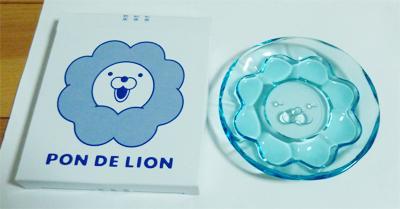 ポンデガラス皿